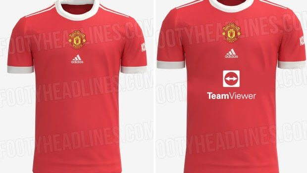 Manchester United shirt 2021/2022 Kit partnership with TeamViewer: Jersey complete details