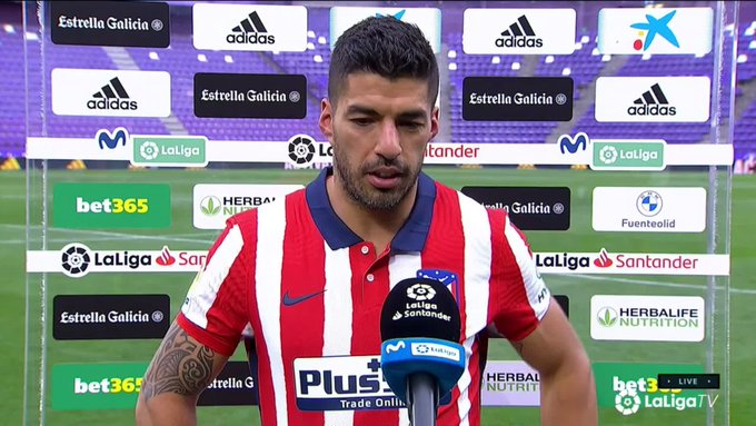 Atlético Madrid president hails Luis Suarez after title win, contract extension on it's way